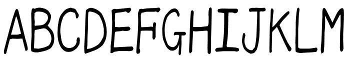 mikachan_o Font UPPERCASE