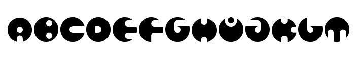 million Bold Font UPPERCASE