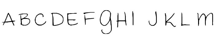 mimi Font UPPERCASE