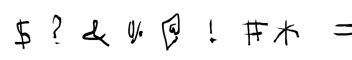 mimizu Font OTHER CHARS