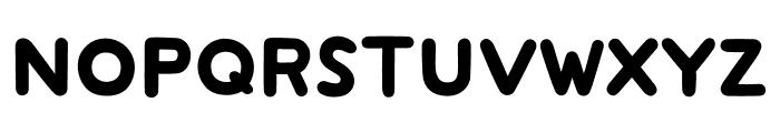 mini-wakuwaku Font UPPERCASE