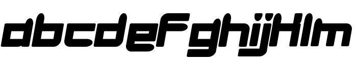 minibike  oblique Font LOWERCASE