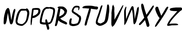 miniquest Italic Font UPPERCASE