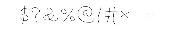 miu font Font OTHER CHARS