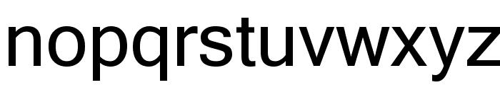 Microsoft Sans Serif Font LOWERCASE
