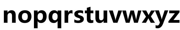 Microsoft YaHei Bold Font LOWERCASE