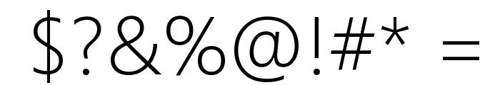 Microsoft YaHei UI Light Font OTHER CHARS