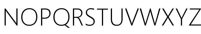 Microsoft YaHei UI Light Font UPPERCASE