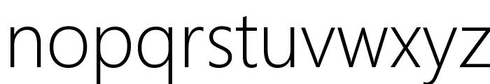 Microsoft YaHei UI Light Font LOWERCASE