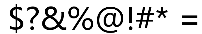 Microsoft YaHei Font OTHER CHARS