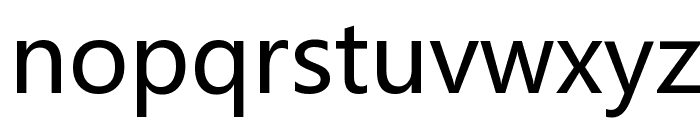 Microsoft YaHei Font LOWERCASE
