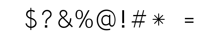 Microsoft Yi Baiti Font OTHER CHARS