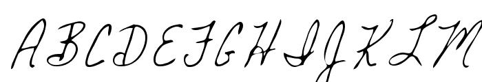 Mickey Regular Font UPPERCASE