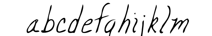 Mickey Regular Font LOWERCASE