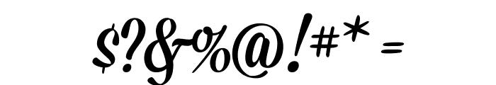 Mission-Script Font OTHER CHARS