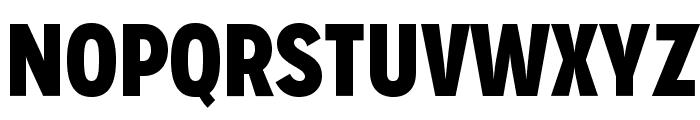 MissionGothic-Black Font UPPERCASE