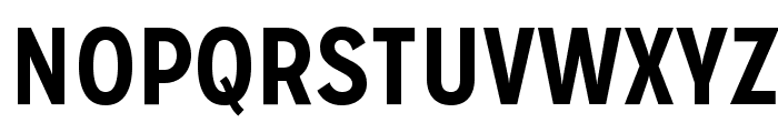MissionGothic-Bold Font UPPERCASE