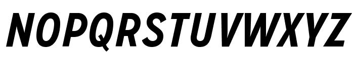 MissionGothic-BoldItalic Font UPPERCASE