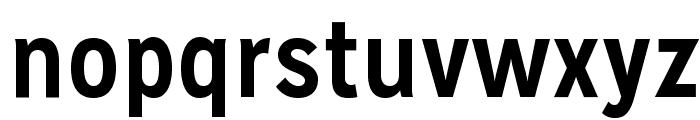 MissionGothic-Bold Font LOWERCASE