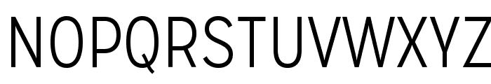 MissionGothic-Light Font UPPERCASE
