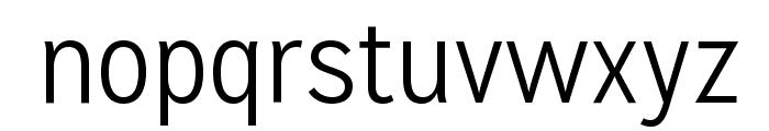 MissionGothic-Light Font LOWERCASE