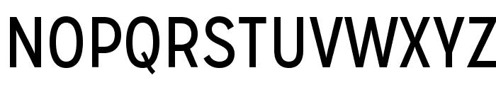 MissionGothic-Regular Font UPPERCASE
