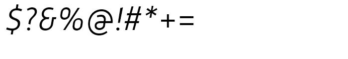 Mic 32 New Light Italic Font OTHER CHARS