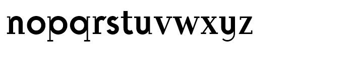 Michelle BF Regular Font LOWERCASE