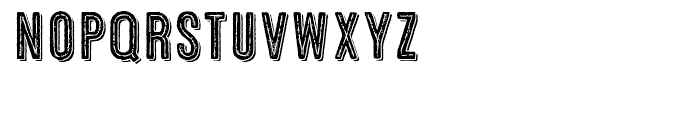 Microbrew Three Combined Font LOWERCASE