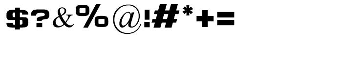 Micrograma Regular Font OTHER CHARS