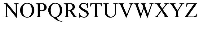 Micrograma Regular Font UPPERCASE