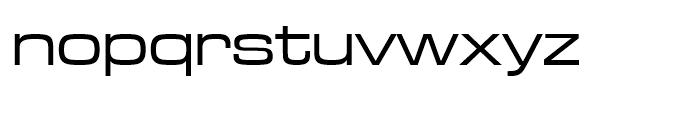 Microgramma Medium Extended D Font LOWERCASE