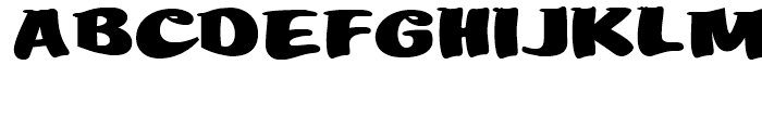 Mikey Likes It Corpulent NF Regular Font UPPERCASE