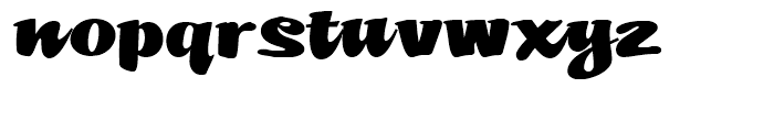 Mikey Likes It Corpulent NF Regular Font LOWERCASE