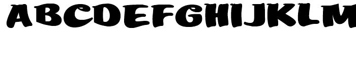 Mikeys Roman NF Regular Font UPPERCASE