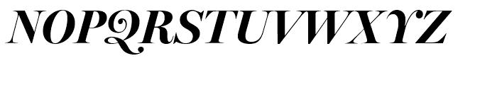 Miller Banner Bold Italic Font UPPERCASE