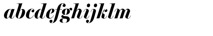 Miller Banner Bold Italic Font LOWERCASE