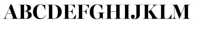 Miller Banner Bold Font UPPERCASE
