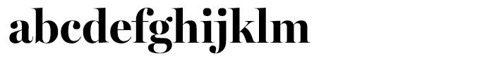 Miller Banner Bold Font LOWERCASE