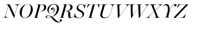 Miller Banner Italic Font UPPERCASE