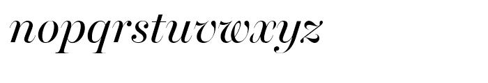 Miller Banner Italic Font LOWERCASE
