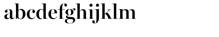 Miller Banner Semibold Font LOWERCASE
