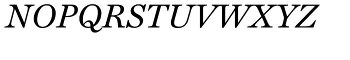 Miller Text Italic Font UPPERCASE