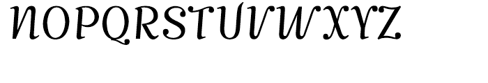 Mimix Light Font UPPERCASE