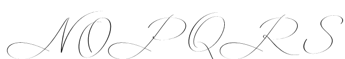 Mina Calligraphic Light Font UPPERCASE