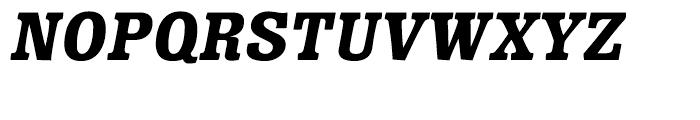 Minernil Black Italic Font UPPERCASE