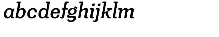 Minernil Medium Italic Font LOWERCASE