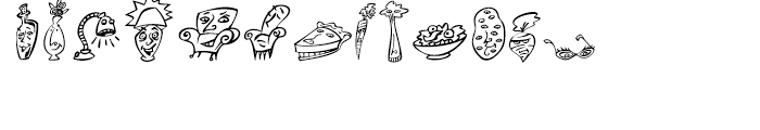 Mini Pics Home Buddies Regular Font UPPERCASE