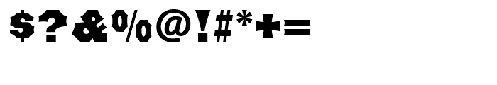 Minnesota Regular Font OTHER CHARS