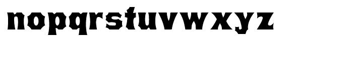 Minnesota Regular Font LOWERCASE